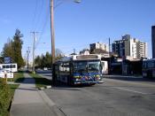 A West Vancouver Blue Bus.