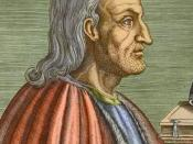 Anselm of Canterbury was the first to attempt an ontological argument for God's existence.