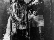 Sitting Bull and Buffalo Bill, 1885