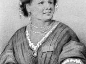 A drawing of Mary Seacole from http://www.mixedfolks.com/historical3.htm likely to be PD as Seacole died in 1881.
