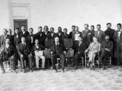 English: A photography of the Choctaw Nation of Oklahoma senate.
