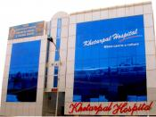 English: Khetarpal Hospital, A Multi Disciplinary Super Specialty Hospital (ISO 9001:2000 Certified) at New Delhi, India. Considered to be 'Center Of Excellence' for all laparoscopic, endoscopic and bariatric surgeries.