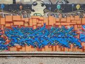 Ryno Oakland Yard Graffiti Art
