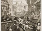 English: William Hogarth's Gin Lane (1751). Category:William Hogarth paintings and prints