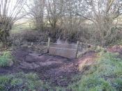 Trusley Brook, SK 261 341, Dalbury, Derbyshire