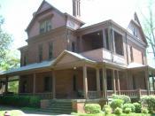 English: Booker T. Washington's house at Tuskegee