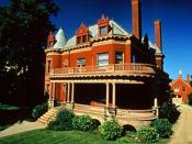 English: Voigt House, in Grand Rapids, MI Heritage Hill district