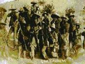 Native Mexicans with Madero's army