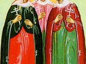 Agape, Chionia, and Irene