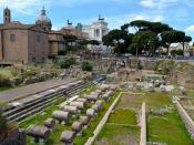 Roman Senate, Triumph, rostra,