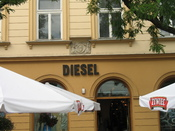 Diesel store in Krakow, Poland.