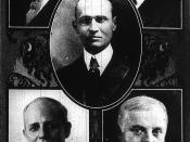 City Council of Buffalo, 1920 - Arthur W. Kreinheder, Ross Graves, George S. Buck (mayor), Frank C. Perkins, John F. Malone