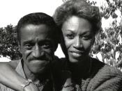 English: portrait of Mr & Mrs Sammy Davis