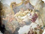 Series History of Psyche in the Lower North Gallery, commissioned by King John III Sobieski.