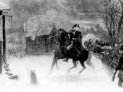 Washington at the Battle of Trenton. An engraving by Illman Brothers. From painting by E.L. Henry.