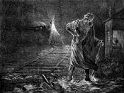 Death on the Rail, a fanciful washout derailment depicted in Harper's Weekly, May 10, 1873
