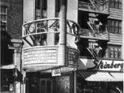 Steinberg's rue Ste-Catherine Ouest près Mackay, Montréal, 1938