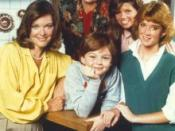 The cast of Kate & Allie