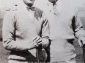 English: Photo of Al Jolson with Irving Berlin
