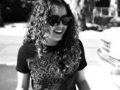 English: Lauren Perkins, professional skateboarder.