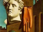 Giorgio de Chirico, Love Song, 1914, Museum of Modern Art, New York City