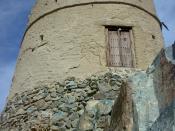English: 18th cent watch-tower, Hatta, UAE