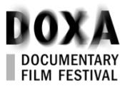 English: Official logo of DOXA Documentary Film Festival