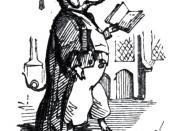English: illustration from Leech's comic latin grammar