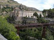 English: Designed by Eiffel a Bridge in Cuenca Spain same person who designed the Eiffel Tower in Paris