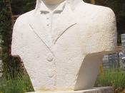 Français : Statue de Nicolas Appert à Malataverne (don Lagarde) par Roger Marion