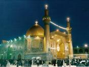 English: Imam Ali Mosque - Shrine of: 1st Shia Imam - Ali ibn Abi Talib; Prophet Adam; Prophet Nuh. (Najaf, Iraq)