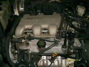 English: V6 engine of Buick G model made in Shanghai GM,China(2002)