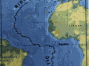 small image showing the location of the Mid-Atlantic ridge
