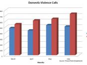 City of Fresno domestic violence statistics.