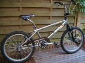 A BMX bike, an example of a bicycle designed for sport