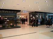 Zara Store in Hong Kong