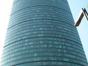 Español: Torre Mayor desde el Paseo de la Reforma en la Ciudad de México.