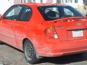 English: Accent Hatchback '03