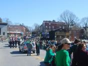 English: The 2010 St. Patrick's Day parade in Wappingers Falls, New York.