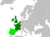 English: Approximation for Western European countries