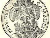 Cambyses II was the son of Cyrus the Great (r. 559-530 BC), founder of the Persian Empire and its first dynasty.
