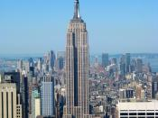 Built in 1931, The Empire State Building in New York City is one of the oldest, yet tallest skyscrapers.