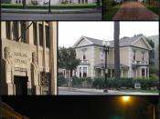 English: Collage of photos in Santa Ana, California