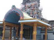 Hindu temple in Matale, popular amongst Tamils of Indian origin