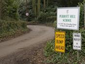 English: Perrott Hill School entrance Modern concepts of