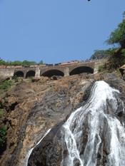 Lower half of the falls