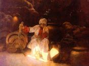 English: Picture of Ali Baba