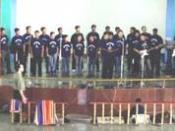 NLC Choir Performance During Choir Trip