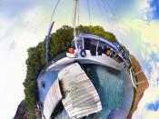 Boat at Rincia