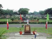 English: Overview of Rizal Park, Manila, the Philippines